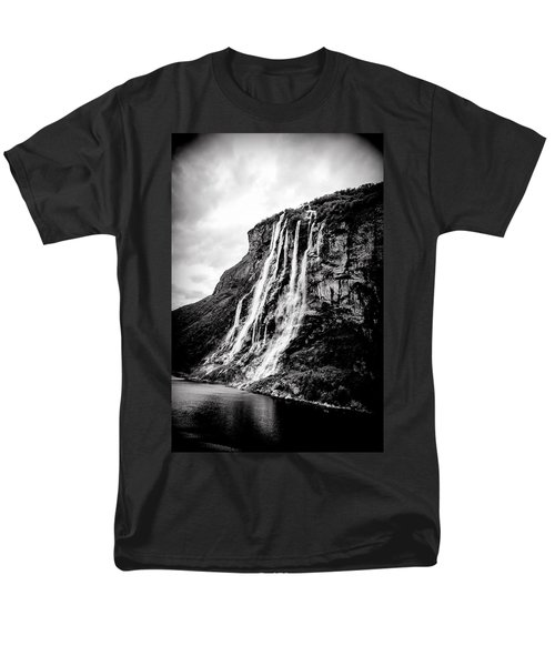 Seven Sisters Waterfall Men's T-Shirt  (Regular Fit) by Bill Howard