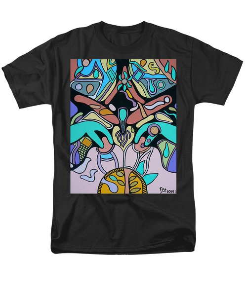 Men's T-Shirt  (Regular Fit) featuring the painting Sex Science by Barbara St Jean