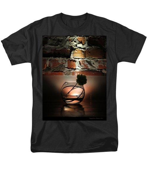 Shadow Flower Men's T-Shirt  (Regular Fit) by Leena Pekkalainen