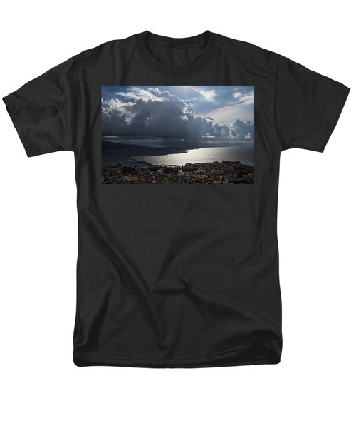 Men's T-Shirt  (Regular Fit) featuring the photograph Shadows Of Clouds by Georgia Mizuleva