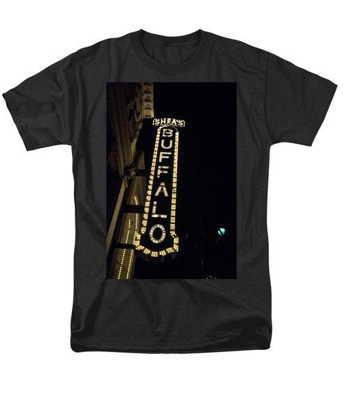 Shea's Buffalo Men's T-Shirt  (Regular Fit) by Guy Whiteley