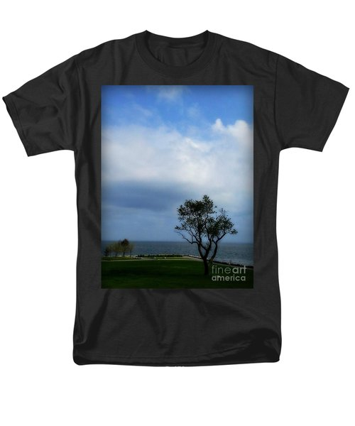 Men's T-Shirt  (Regular Fit) featuring the photograph Sherwood Island by Kristine Nora