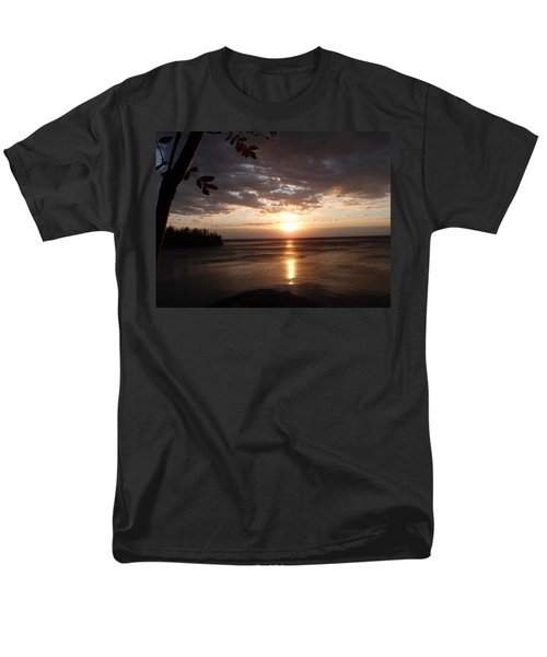 Men's T-Shirt  (Regular Fit) featuring the photograph Shimmering Sunrise by James Peterson