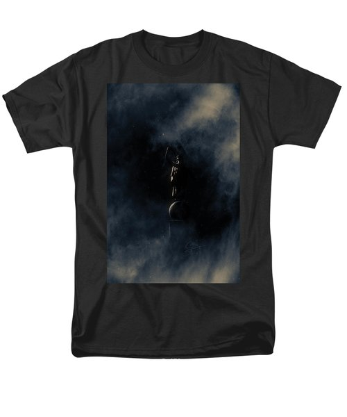 Men's T-Shirt  (Regular Fit) featuring the photograph Shine Forth In Darkness by Greg Collins