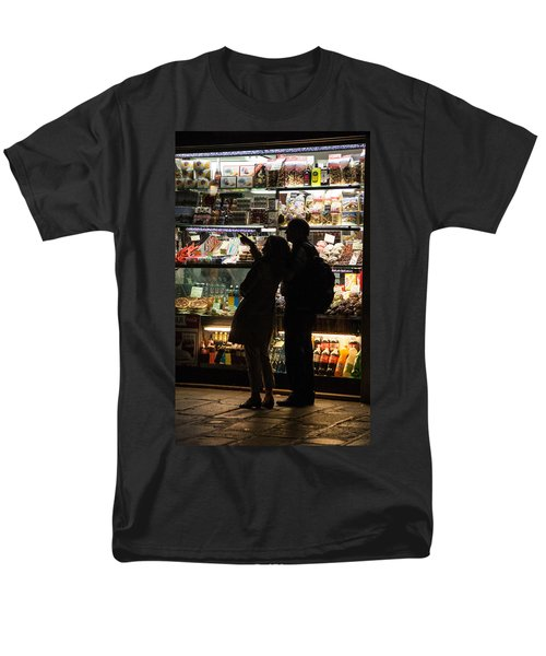 Men's T-Shirt  (Regular Fit) featuring the photograph Shop by Silvia Bruno