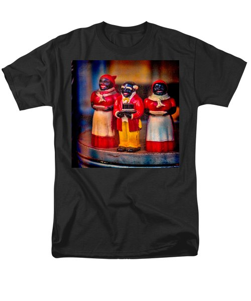 Men's T-Shirt  (Regular Fit) featuring the photograph Shop Window Trio by Chris Lord
