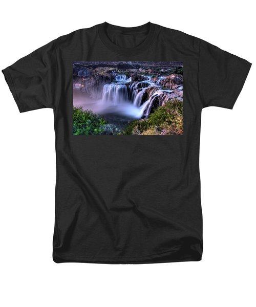Shoshone Falls Men's T-Shirt  (Regular Fit) by David Andersen
