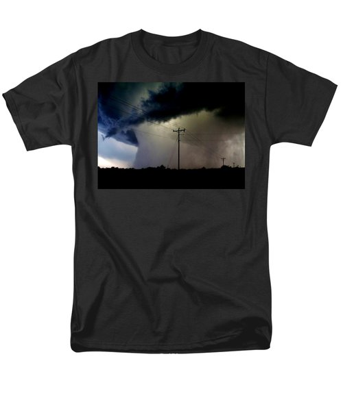 Shrouded Tornado Men's T-Shirt  (Regular Fit) by Ed Sweeney