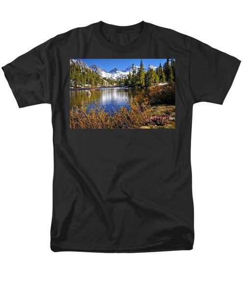 Men's T-Shirt  (Regular Fit) featuring the photograph Signs Of Spring by Lynn Bauer