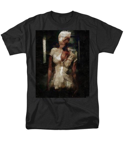 Silent Hill Nurse Men's T-Shirt  (Regular Fit) by Joe Misrasi