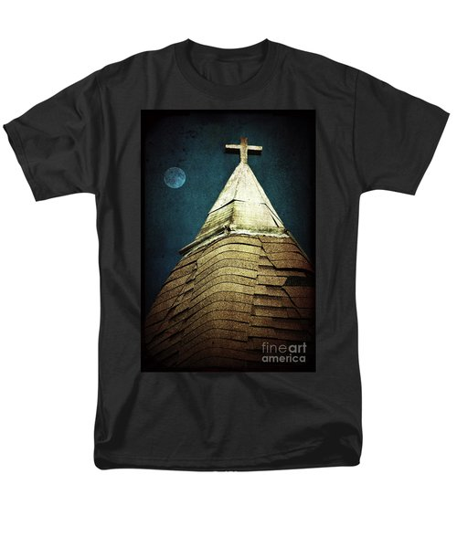 Silent Night Men's T-Shirt  (Regular Fit) by Trish Mistric