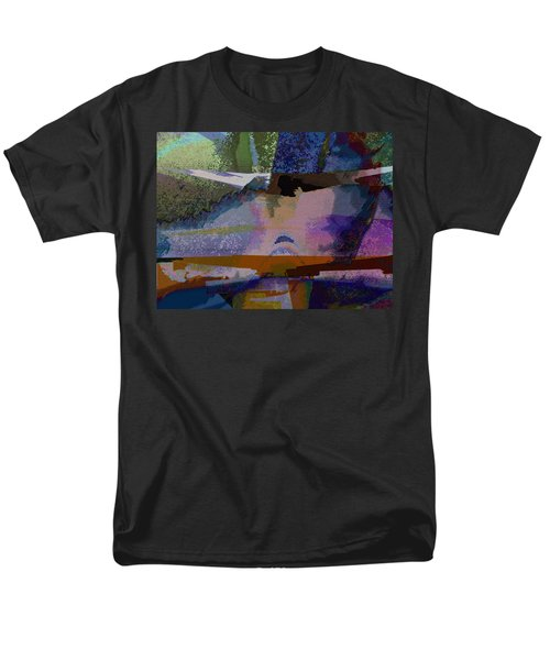 Men's T-Shirt  (Regular Fit) featuring the photograph Silhouette And Shadows by David Pantuso