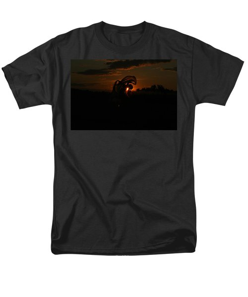 Silk Sunset Men's T-Shirt  (Regular Fit) by Leeon Pezok