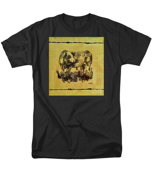 Simmental Bull 12 Men's T-Shirt  (Regular Fit)