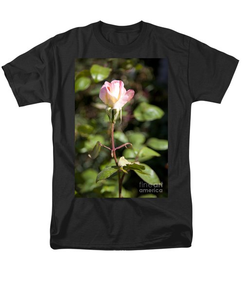Single Rose Men's T-Shirt  (Regular Fit) by David Millenheft