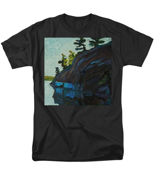 Singleton South Shore Men's T-Shirt  (Regular Fit) by Phil Chadwick