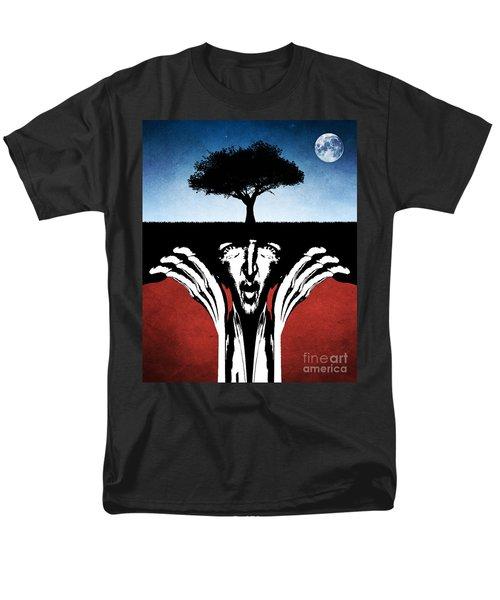Men's T-Shirt  (Regular Fit) featuring the digital art Sir Real by Phil Perkins