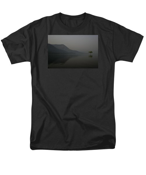 Men's T-Shirt  (Regular Fit) featuring the photograph Skc 0086 Solitary Isolation by Sunil Kapadia