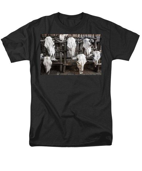 Skulls Of New Mexico Men's T-Shirt  (Regular Fit) by Steven Bateson