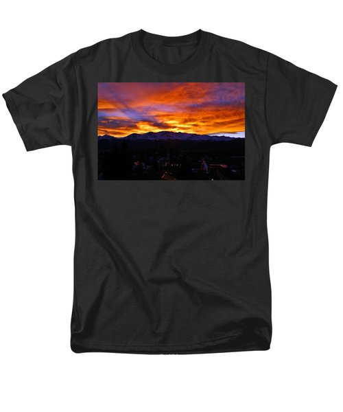 Men's T-Shirt  (Regular Fit) featuring the photograph Sky Shadows by Jeremy Rhoades