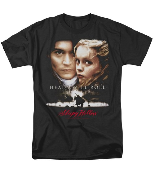 Sleepy Hollow - Heads Will Roll Men's T-Shirt  (Regular Fit)
