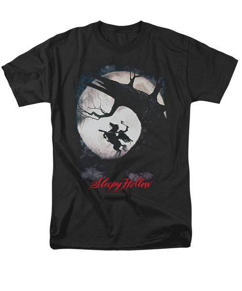Sleepy Hollow - Poster Men's T-Shirt  (Regular Fit)