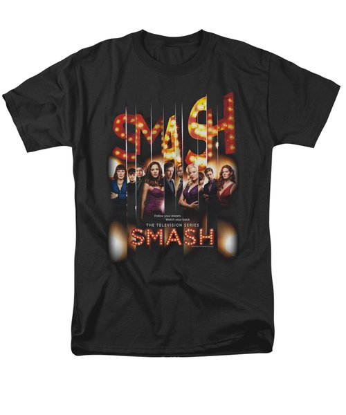 Smash - Poster Men's T-Shirt  (Regular Fit) by Brand A