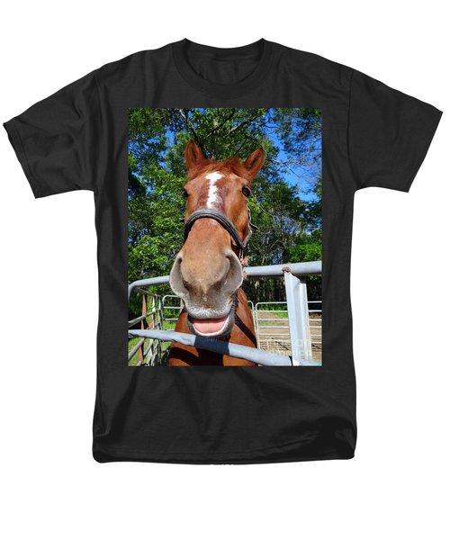 Men's T-Shirt  (Regular Fit) featuring the photograph Smile by Ed Weidman