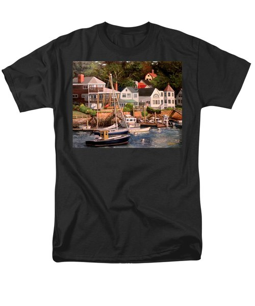 Smiths Cove Gloucester Men's T-Shirt  (Regular Fit) by Eileen Patten Oliver