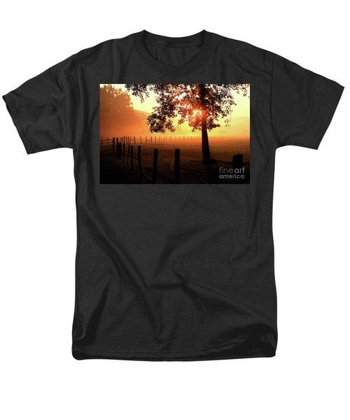 Smoky Mountain Sunrise Men's T-Shirt  (Regular Fit)