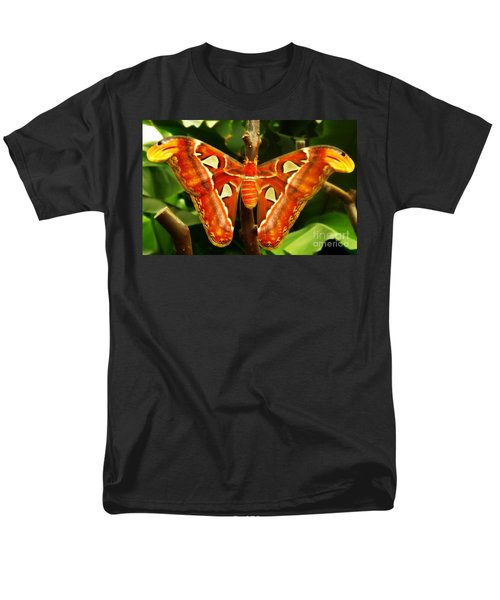Men's T-Shirt  (Regular Fit) featuring the photograph Snake Head by Clare Bevan