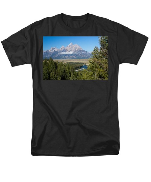 Snake River Overlook Men's T-Shirt  (Regular Fit)