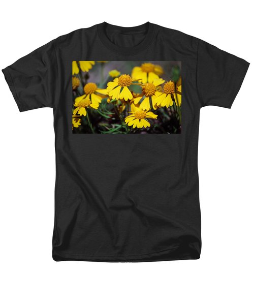 Men's T-Shirt  (Regular Fit) featuring the photograph Sneezeweed by Ester  Rogers
