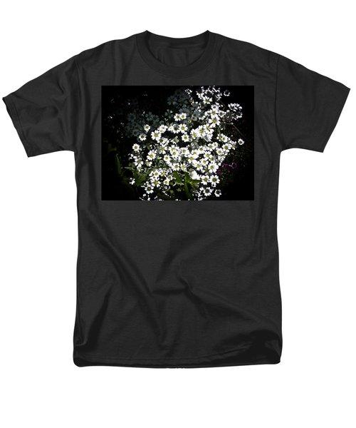 Men's T-Shirt  (Regular Fit) featuring the photograph Snow In Summer by Joann Copeland-Paul