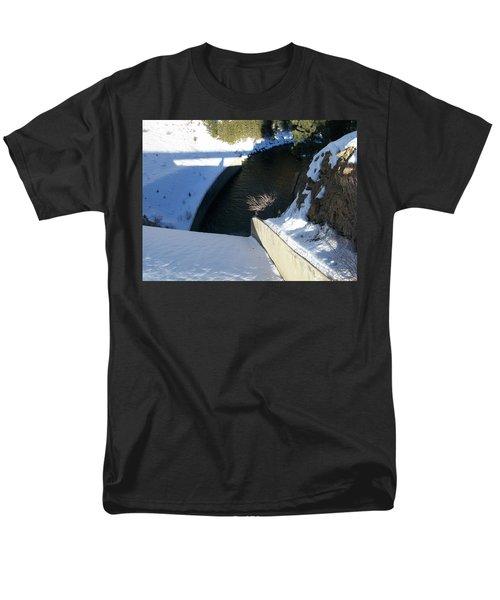 Snow Slide Men's T-Shirt  (Regular Fit) by Jewel Hengen
