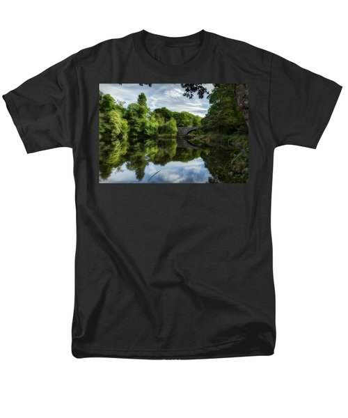 Snowdonia Summer On The River Men's T-Shirt  (Regular Fit) by Beverly Cash