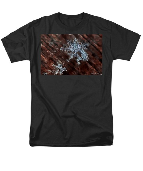 Snowflake Men's T-Shirt  (Regular Fit) by Suzanne Stout