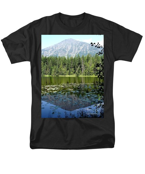 Men's T-Shirt  (Regular Fit) featuring the photograph Snyder Lake Reflection by Kerri Mortenson