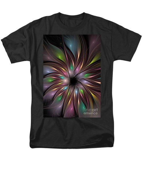Soft Colors Of The Rainbow Men's T-Shirt  (Regular Fit) by Deborah Benoit