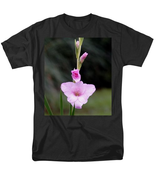 Soft Pink Glad Men's T-Shirt  (Regular Fit) by Kim Pate