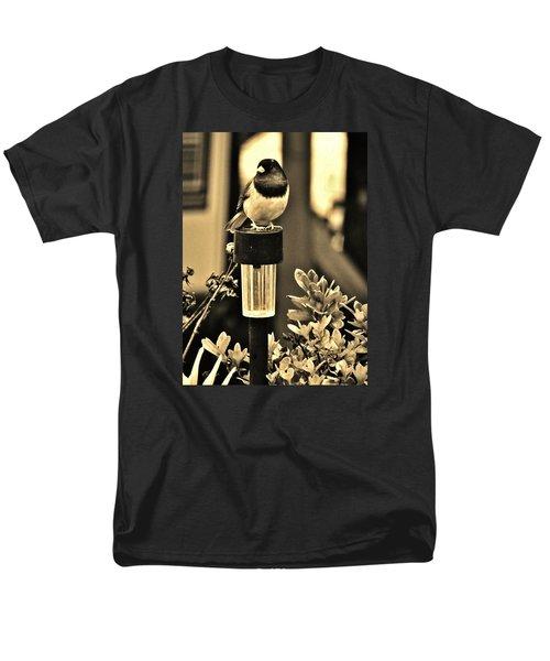 Men's T-Shirt  (Regular Fit) featuring the photograph Solar Light Sitting by VLee Watson