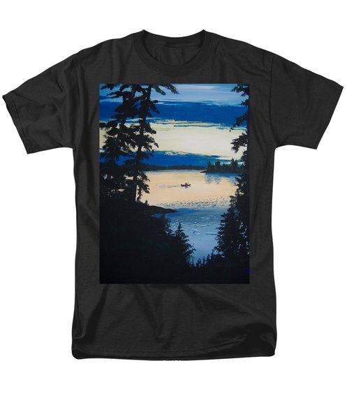 Solitude Men's T-Shirt  (Regular Fit) by Norm Starks