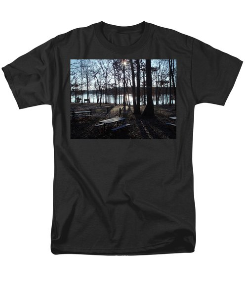 Men's T-Shirt  (Regular Fit) featuring the photograph Solitude by Fortunate Findings Shirley Dickerson