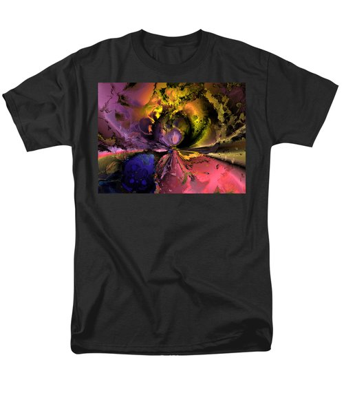 Song Of The Cosmos Men's T-Shirt  (Regular Fit) by Claude McCoy