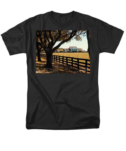 Southfork Ranch - Across The Pasture Men's T-Shirt  (Regular Fit) by Robert ONeil