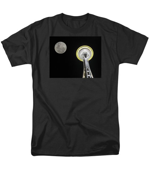 Men's T-Shirt  (Regular Fit) featuring the photograph Space Needle by David Gleeson