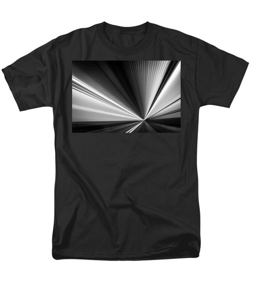 Men's T-Shirt  (Regular Fit) featuring the photograph Space-time Continuum by Mihai Andritoiu
