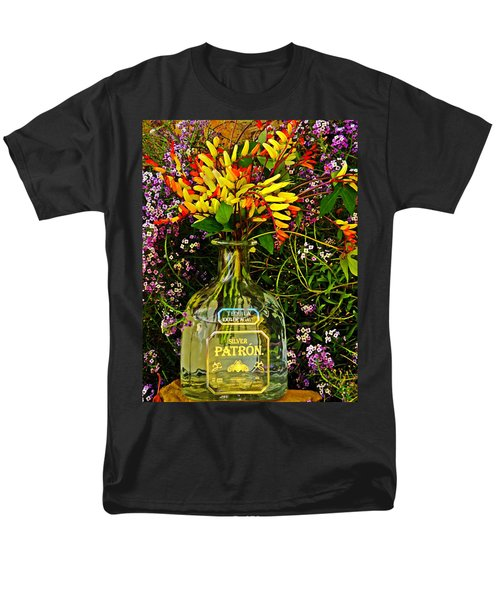 Spanish Flags  Men's T-Shirt  (Regular Fit) by Chris Berry