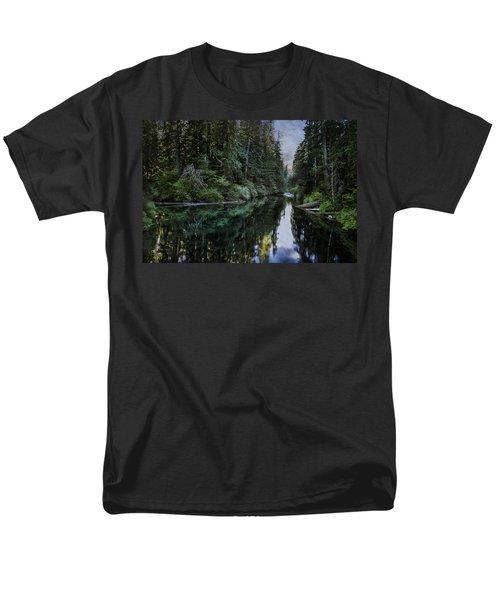 Spawning A River Men's T-Shirt  (Regular Fit) by Belinda Greb