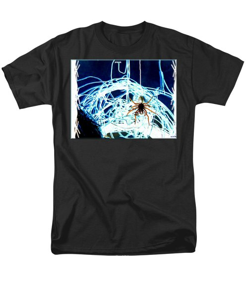 Men's T-Shirt  (Regular Fit) featuring the digital art Spider by Daniel Janda